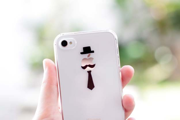 37-DIY-Gentleman-iPhone-Case