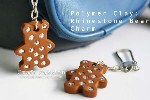 Crafts to Make and Sell - Easy Polymer Clay Charm - Easy Step by Step Tutorials for Fun, Cool and Creative Ways for Teenagers to Make Money Selling Stuff - Room Decor, Accessories, Gifts and More http://diyprojectsforteens.com/diy-crafts-to-make-and-sell
