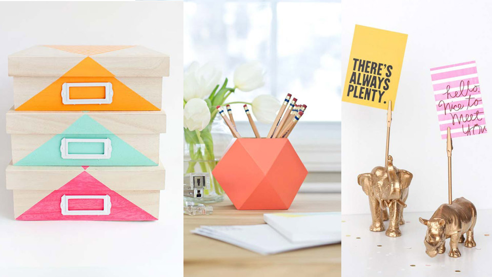 40 Fun DIYs for your desk