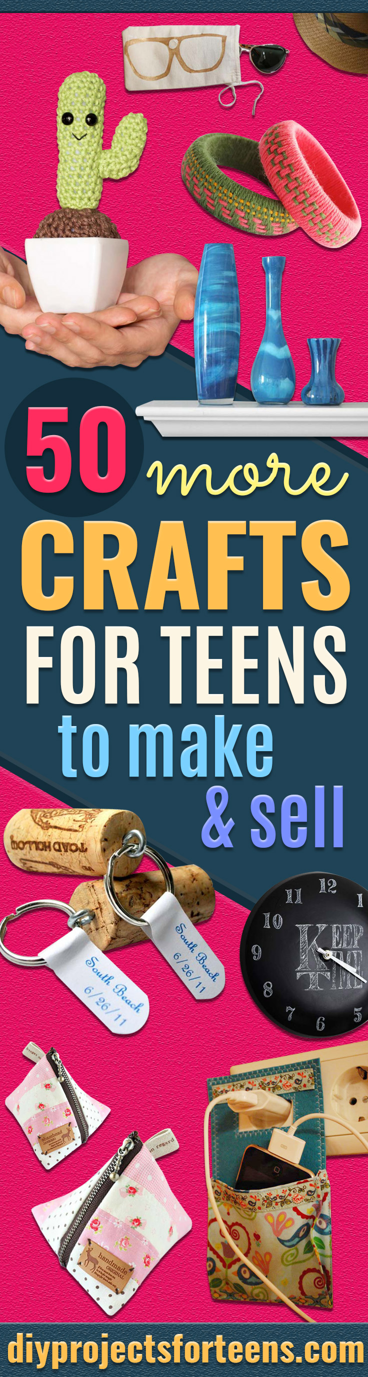 50 more crafts for teens to make and sell