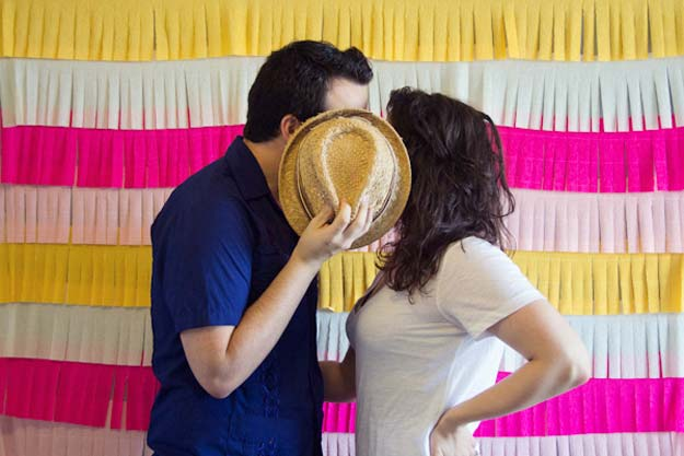 DIY Selfie Ideas - Cinco De Mayo Fringe - Cool Ideas for Photo Booth and Picture Station - Props, Light, Mirror, Board, Wall, Background and Tips for Shooting Best Selfies - DIY Projects and Crafts for Teens