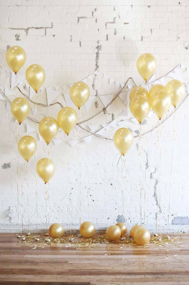 DIY Selfie Ideas - Party Backdrop - Cool Ideas for Photo Booth and Picture Station - Props, Light, Mirror, Board, Wall, Background and Tips for Shooting Best Selfies - DIY Projects and Crafts for Teens