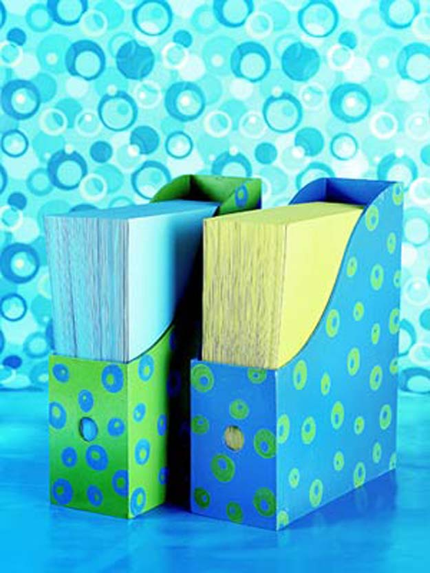 Fun DIY Ideas for Your Desk - Decorated Desk Accessories - Cubicles, Ideas for Teens and Student - Cheap Dollar Tree Storage and Decor for Offices and Home - Cool DIY Projects and Crafts for Teens http://diyprojectsforteens.com/diy-ideas-desk