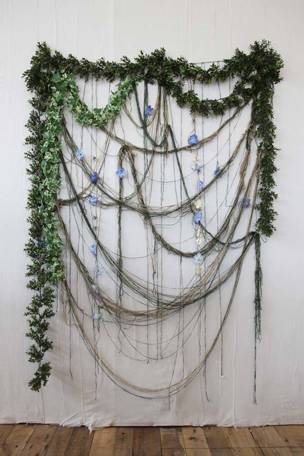 DIY Selfie Ideas - Spring Foliage - Cool Ideas for Photo Booth and Picture Station - Props, Light, Mirror, Board, Wall, Background and Tips for Shooting Best Selfies - DIY Projects and Crafts for Teens