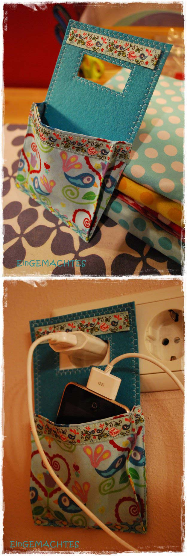 Crafts to Make and Sell - Cute Charging Station - Easy Step by Step Tutorials for Fun, Cool and Creative Ways for Teenagers to Make Money Selling Stuff - Room Decor, Accessories, Gifts and More http://diyprojectsforteens.com/diy-crafts-to-make-and-sell