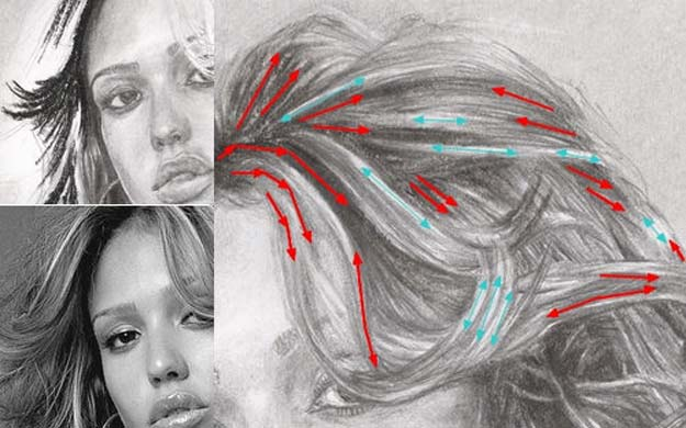 Easy Drawing Ideas With Free Step by Step Tutorials- How To Draw Hair and Hair Drawing Tutorial - Learn How To Draw Animals, Easy People, Step by Step Drawing and Tutorial With Instructions - Creative Arts and Crafts Ideas for Teens - Shapes, Shading, Buildings, School Art Projects, Drawing for Beginners and Teenagers, Kids #drawing #art #drawingtutorials