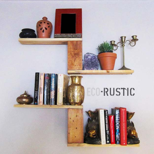DIY Room Decor Ideas for Boys - - DIY Pallet Tree Shelf - Teen Bedroom Decor Idea for Boy - Wall Art, Lighting, Lamps, Shelves, Bedding, Curtains and Rugs for Boy Rooms - Easy Step by Step Tutorials and Projects for Decorating Teens and Tweens Rooms http://diyprojectsforteens.com/diy-room-decor-boys