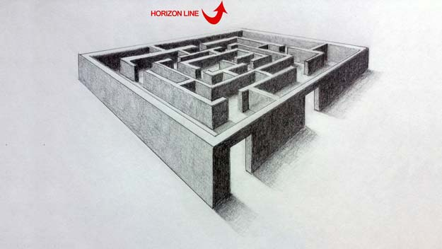 Cool Drawing Tutorials - How To Draw A 3D Maze - Learn How To Draw Animals, Easy People, Step by Step Drawing and Tutorial With Instructions - Creative Arts and Crafts Ideas for Teens - Shapes, Shading, Buildings, School Art Projects, Drawing for Beginners and Teenagers, Kids http://diyprojectsforteens.com/cool-drawing-tutorials