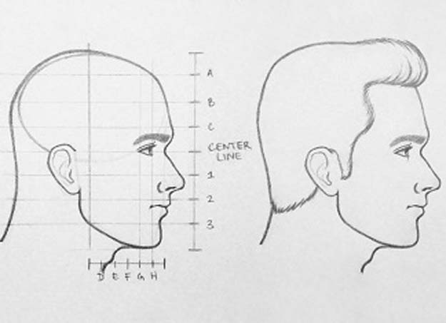 Cool Drawing Tutorials - How To Draw Faces Profile- Learn How To Draw Animals, Easy People, Step by Step Drawing and Tutorial With Instructions - Creative Arts and Crafts Ideas for Teens - Shapes, Shading, Buildings, School Art Projects, Drawing for Beginners and Teenagers, Kids http://diyprojectsforteens.com/cool-drawing-tutorials