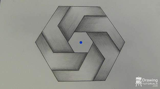 Cool Drawing Tutorials - How To Draw A Shaded Hexagon- Learn How To Draw Animals, Easy People, Step by Step Drawing and Tutorial With Instructions - Creative Arts and Crafts Ideas for Teens - Shapes, Shading, Buildings, School Art Projects, Drawing for Beginners and Teenagers, Kids http://diyprojectsforteens.com/cool-drawing-tutorials