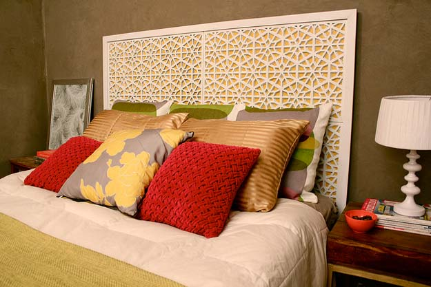 All White DIY Room Decor - DIY West Elm Morocco Headboard - Creative Home Decor Ideas for the Bedroom and Teen Rooms - Do It Yourself Crafts and White Wall Art, Bedding, Curtains, Lamps, Lighting, Rugs and Accessories - Easy Room Decoration Ideas for Girls, Teens and Tweens - Cute DIY Gifts and Projects With Step by Step Tutorials and Instructions http://diyprojectsforteens.com/diy-room-decor-white