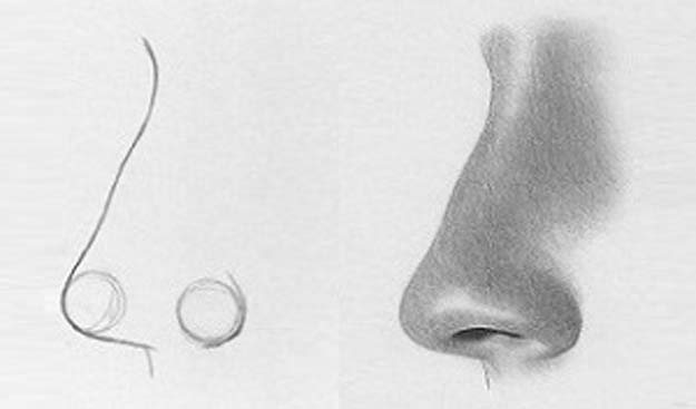 Cool Drawing Tutorials - How To Draw a Nose or Noses and Faces - Learn How To Draw Animals, Easy People, Step by Step Drawing and Tutorial With Instructions - Creative Arts and Crafts Ideas for Teens - Shapes, Shading, Buildings, School Art Projects, Drawing for Beginners and Teenagers, Kids http://diyprojectsforteens.com/cool-drawing-tutorials