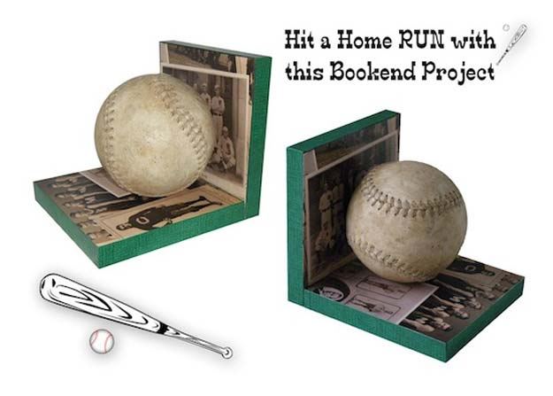 DIY Room Decor Ideas for Boys - - Baseball Bookends - Teen Bedroom Decor Idea for Boy - Wall Art, Lighting, Lamps, Shelves, Bedding, Curtains and Rugs for Boy Rooms - Easy Step by Step Tutorials and Projects for Decorating Teens and Tweens Rooms http://diyprojectsforteens.com/diy-room-decor-boys