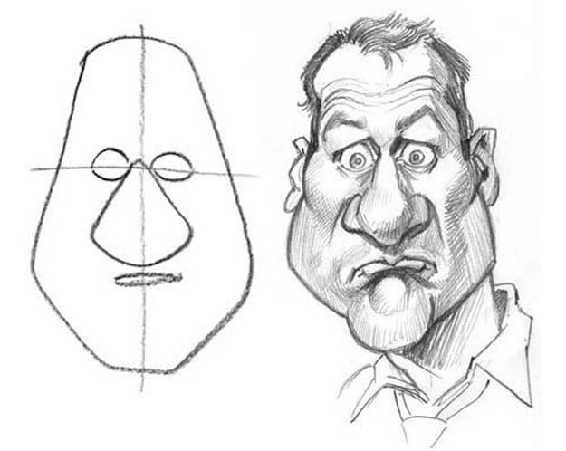Cool drawing tutorials how to draw caricatures learn how to draw animals easy