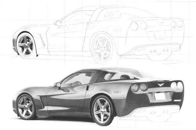 Cool Drawing Tutorials - How To Draw A Car - Learn How To Draw Animals, Easy People, Step by Step Drawing and Tutorial With Instructions - Creative Arts and Crafts Ideas for Teens - Shapes, Shading, Buildings, School Art Projects, Drawing for Beginners and Teenagers, Kids #drawing #art #drawingtutorials