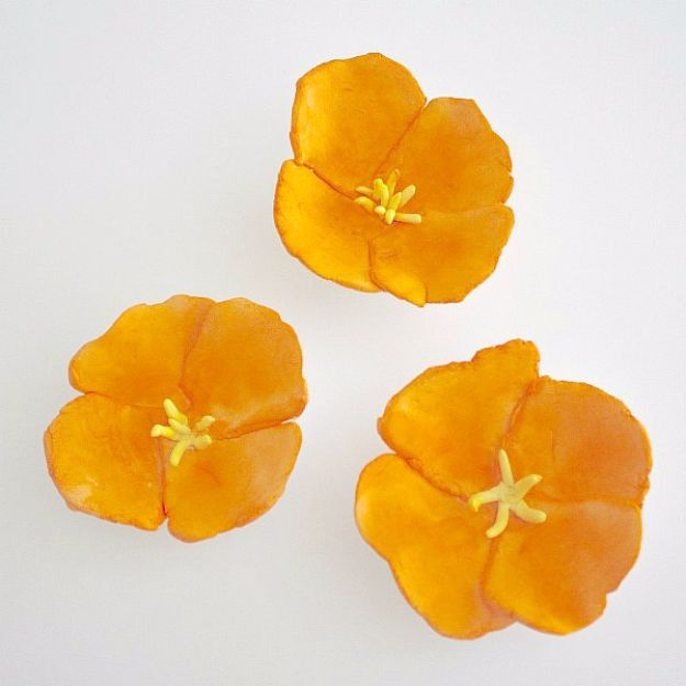 Best DIY Ideas for Teens To Make This Summer - California Poppy Magnets - Fun and Easy Crafts, Room Decor, Toys and Craft Projects to Make And Sell - Cool Gifts for Friends, Awesome Things To Do When You Are Bored - Teenagers - Boys and Girls Love Making These Creative Projects With Step by Step Tutorials and Instructions #diyideas #summer #teencrafts #crafts
