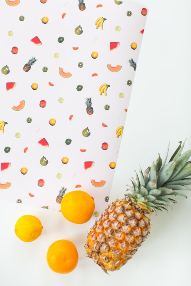Best DIY Room Decor Ideas for Teens and Teenagers - DIY Printable Fruit Wall Art - Best Cool Crafts, Bedroom Accessories, Lighting, Wall Art, Creative Arts and Crafts Projects, Rugs, Pillows, Curtains, Lamps and Lights - Easy and Cheap Do It Yourself Ideas for Teen Bedrooms and Play Rooms http://diyprojectsforteens.com/diy-room-decor-ideas-teens