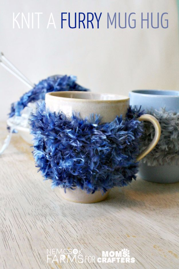 Best DIY Ideas for Teens To Make This Summer - Furry Mug Hug - Fun and Easy Crafts, Room Decor, Toys and Craft Projects to Make And Sell - Cool Gifts for Friends, Awesome Things To Do When You Are Bored - Teenagers - Boys and Girls Love Making These Creative Projects With Step by Step Tutorials and Instructions #diyideas #summer #teencrafts #crafts