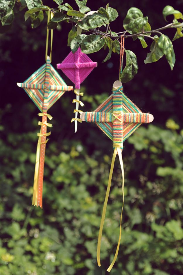 Best DIY Ideas for Teens To Make This Summer - Summer Kites - Fun and Easy Crafts, Room Decor, Toys and Craft Projects to Make And Sell - Cool Gifts for Friends, Awesome Things To Do When You Are Bored - Teenagers - Boys and Girls Love Making These Creative Projects With Step by Step Tutorials and Instructions #diyideas #summer #teencrafts #crafts