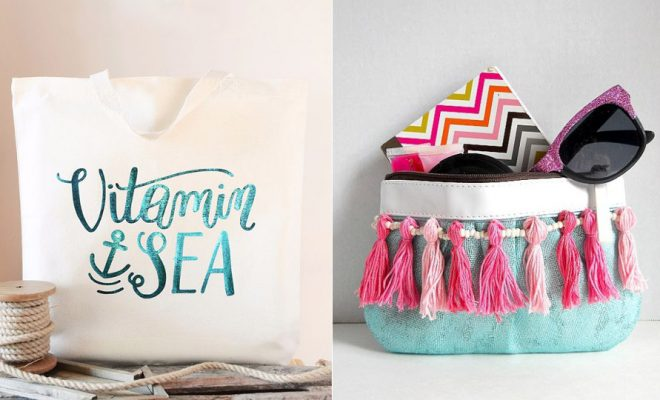 DIY Bags for Summer - Easy Ideas to Make for Beach and Pool - Quick Projects for a Bag on A Budget - Cute No Sew Idea, Quick Sewing Patterns - Paint and Crafts for Making Creative Beach Bags - Fun Tutorials for Kids, Teens, Teenagers, Girls and Adults http://diyprojectsforteens.com/diy-bags-summer
