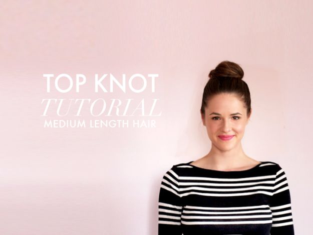 Cool Hair Tutorials for Summer - Big Top Knot Tutorial - Easy Hairstyles and Creative Looks for Hair - Beachy Waves, Hair Styles for Short Hair, Medium Length and Long Hair - Ponytails, Updo Ideas and Quick Last Minute Hairstyle for Teens, Teenagers and Women http://diyprojectsforteens.com/cool-hairstyles-summer