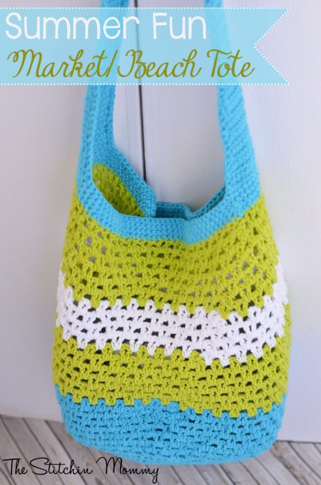 DIY Bags for Summer - Summer Fun Market Beach Tote - Easy Ideas to Make for Beach and Pool - Quick Projects for a Bag on A Budget - Cute No Sew Idea, Quick Sewing Patterns - Paint and Crafts for Making Creative Beach Bags - Fun Tutorials for Kids, Teens, Teenagers, Girls and Adults http://diyprojectsforteens.com/diy-bags-summer