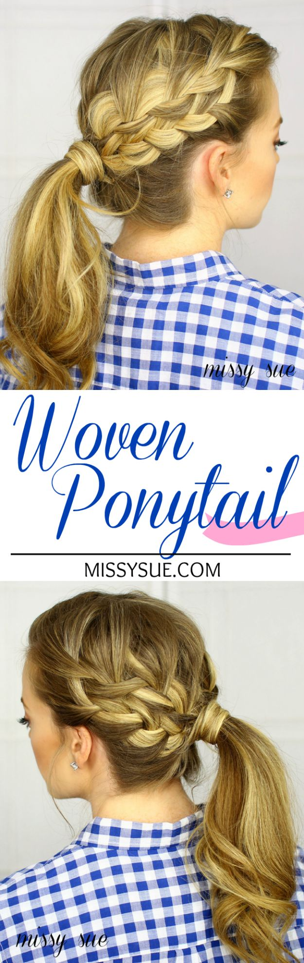 Cool Hair Tutorials for Summer - Woven Ponytail Tutorial - Easy Hairstyles and Creative Looks for Hair - Beachy Waves, Hair Styles for Short Hair, Medium Length and Long Hair - Ponytails, Updo Ideas and Quick Last Minute Hairstyle for Teens, Teenagers and Women http://diyprojectsforteens.com/cool-hairstyles-summer