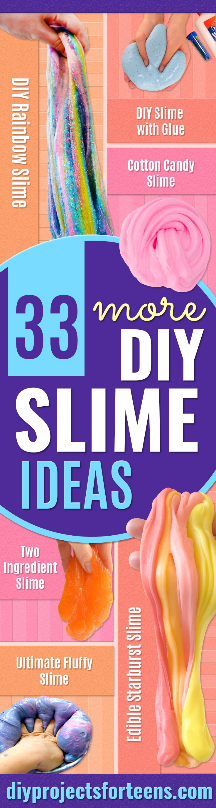 Best DIY Slime Recipes - 3-Ingredient Color-Changing Edible Silly Putty - Cool and Easy Slime Recipe and Tutorials - Ideas Without Glue, Without Borax, For Kids, With Liquid Starch, Cornstarch and Laundry Detergent - How to Make Slime at Home - Fun Crafts and DIY Projects for Teens, Kids, Teenagers and Teens - Galaxy and Glitter Slime, Edible Slime, Rainbow Colored Slime, Shaving Cream recipes and more fun crafts and slimes http://diyprojectsforteens.com/diy-slime-recipe-ideas