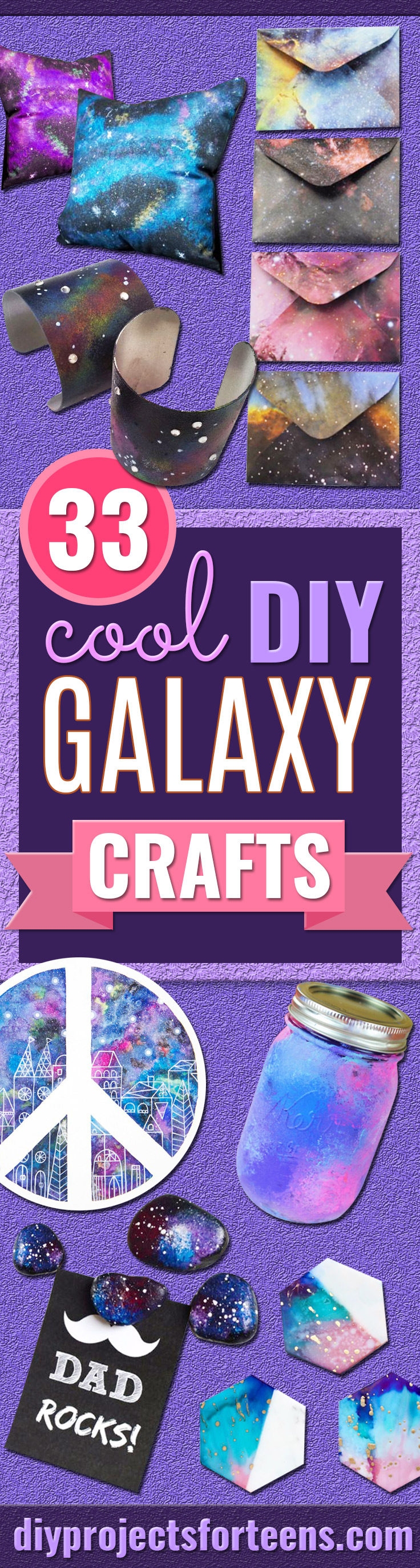 Galaxy DIY Crafts - Easy Room Decor, Cool Clothes, Fun Fabric Ideas and Painting Projects - Food, Cookies and Cupcake Recipes - Nebula Galaxy In A Jar - Art for Your Bedroom - Shirt, Backpack, Soap, Decorations for Teens, Kids and Adults http://diyprojectsforteens.com/galaxy-crafts