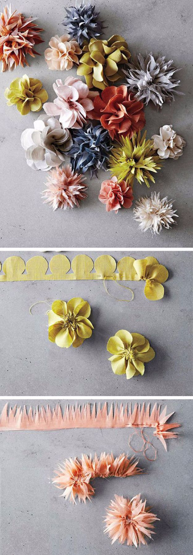 DIY Paper Flowers For Your Room - DIY Beautiful Paper Flower - How To Make A Paper Flower - Large Wedding Backdrop for Wall Decor - Easy Tissue Paper Flower Tutorial for Kids - Giant Projects for Photo Backdrops - Daisy, Roses, Bouquets, Centerpieces - Cricut Template and Step by Step Tutorial http://diyjoy.com/diy-paper-flowers