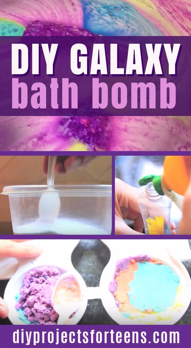 Cool DIY Bath Bombs to Make At Home - DIY Galaxy Bath Bombs - Recipes and Tutorial for How To Make A Bath Bomb - Best Bathbomb Ideas - Fun DIY Projects for Women, Teens, and Girls | DIY Bath Bombs Recipe and Tutorials | Make Cheap Gifts Like Lush Bath Bombs http://diyprojectsforteens.com/best-diy-bath-bombs