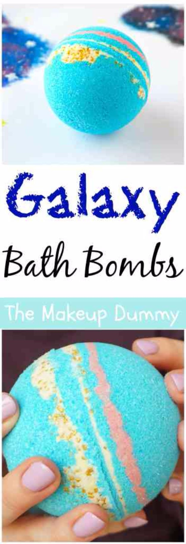 Galaxy DIY Crafts - DIY Galaxy Bath Bombs - Easy Room Decor, Cool Clothes, Fun Fabric Ideas and Painting Projects - Food, Cookies and Cupcake Recipes - Nebula Galaxy In A Jar - Art for Your Bedroom - Shirt, Backpack, Soap, Decorations for Teens, Kids and Adults