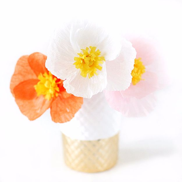 34 Diy Paper Flowers For Your Room