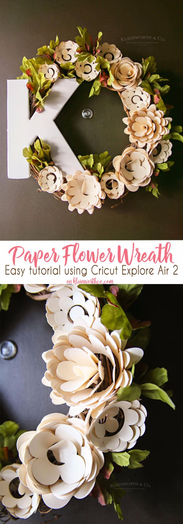 DIY Paper Flowers For Your Room - Paper Flower Wreath Cricut - How To Make A Paper Flower - Large Wedding Backdrop for Wall Decor - Easy Tissue Paper Flower Tutorial for Kids - Giant Projects for Photo Backdrops - Daisy, Roses, Bouquets, Centerpieces - Cricut Template and Step by Step Tutorial http://diyjoy.com/diy-paper-flowers