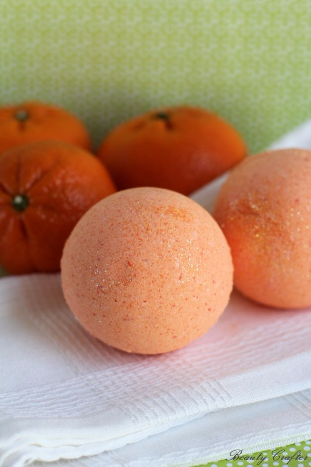 Cool DIY Bath Bombs to Make At Home - Therapeutic Orange Bath Bombs - Recipes and Tutorial for How To Make A Bath Bomb - Best Bathbomb Ideas - Fun DIY Projects for Women, Teens, and Girls | DIY Bath Bombs Recipe and Tutorials | Make Cheap Gifts Like Lush Bath Bombs http://diyprojectsforteens.com/best-diy-bath-bombs
