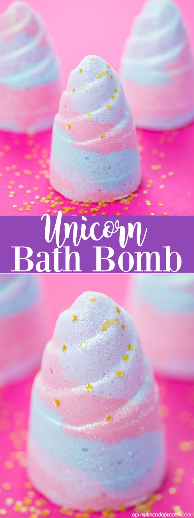 Cool DIY Bath Bombs to Make At Home - Unicorn Bath Bomb - Recipes and Tutorial for How To Make A Bath Bomb - Best Bathbomb Ideas - Fun DIY Projects for Women, Teens, and Girls | DIY Bath Bombs Recipe and Tutorials | Make Cheap Gifts Like Lush Bath Bombs #bathbombs #teencrafts #diyideas