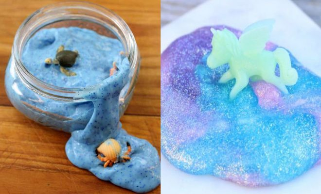 Borax Free Slime Recipes - Safe Slimes To Make Without Glue - How To Make Fluffy Slime With Shaving Cream - Easy 3 Ingredients Glitter Slime, Clear, Galaxy, Best DIY Slime Tutorials With Step by Step Instructions http://diyprojectsforteens.com/borax-free-slime
