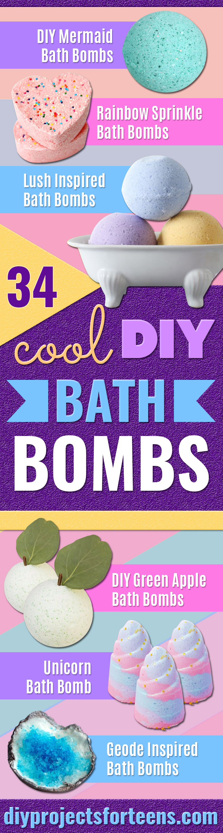 Cool DIY Bath Bombs to Make At Home - Rose Milk Bath Bombs - Recipes and Tutorial for How To Make A Bath Bomb - Best Bathbomb Ideas - Fun DIY Projects for Women, Teens, and Girls | DIY Bath Bombs Recipe and Tutorials | Make Cheap Gifts Like Lush Bath Bombs #bathbombs #teencrafts #diyideas