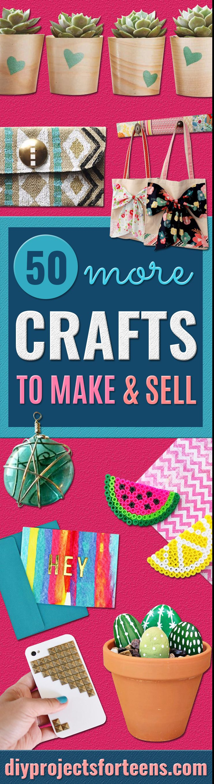 50 Easy Crafts to Make and Sell for Teens