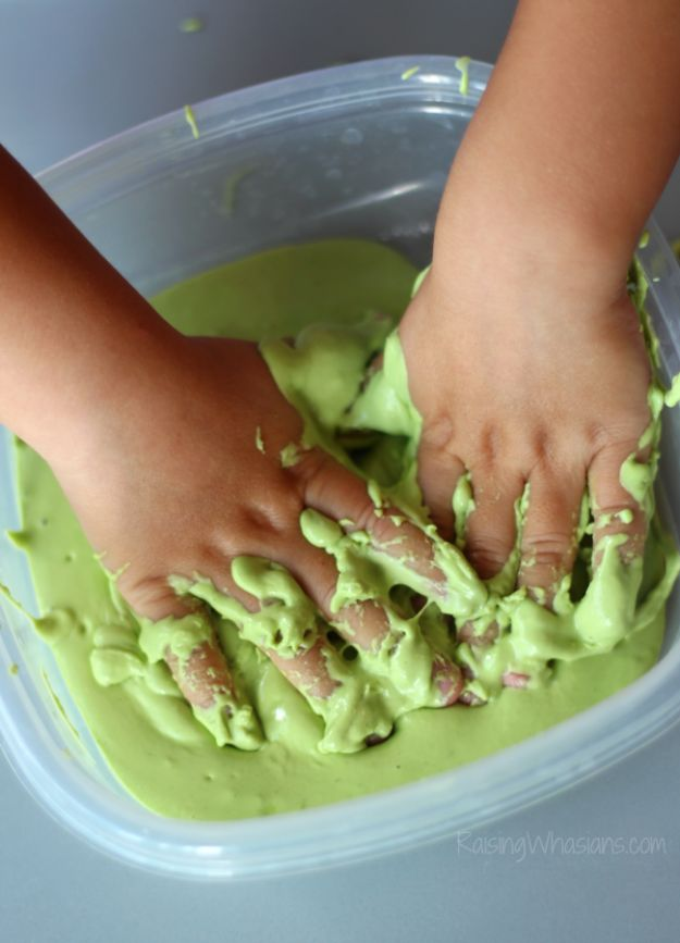 Borax Free Slime Recipes - Allergy Friendly Edible Slime - Safe Slimes To Make Without Glue - How To Make Fluffy Slime With Shaving Cream - Easy 3 Ingredients Glitter Slime, Clear, Galaxy, Best DIY Slime Tutorials With Step by Step Instructions http://diyprojectsforteens.com/borax-free-slime