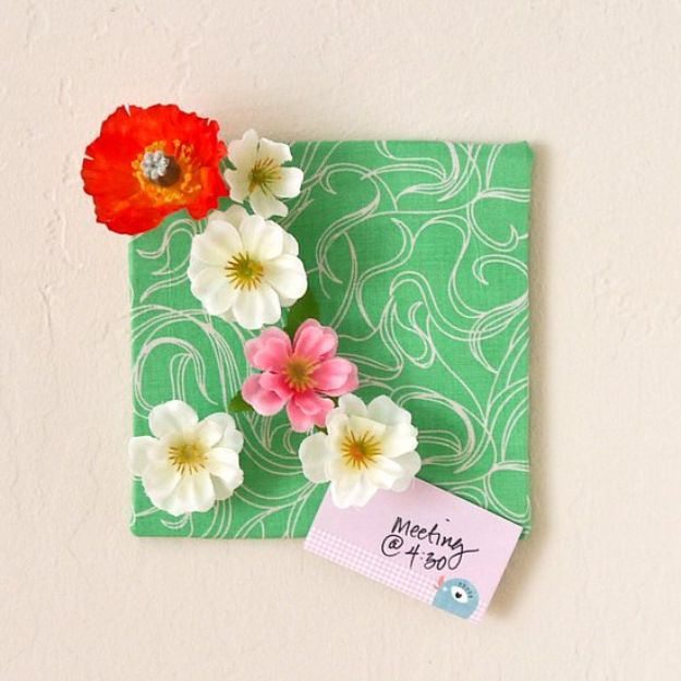 Crafts for Teens to Make and Sell - DIY Flower Push Pins - Cheap and Easy DIY Ideas To Make For Extra Money - Best Things to Sell On Etsy, Dollar Store Craft Ideas, Quick Projects for Teenagers To Make Spending Cash - DIY Gifts, Wall Art, School Supplies, Room Decor, Jewelry, Fashion, Hair Accessories, Bracelets, Magnets #teencrafts #craftstosell #etsyideass