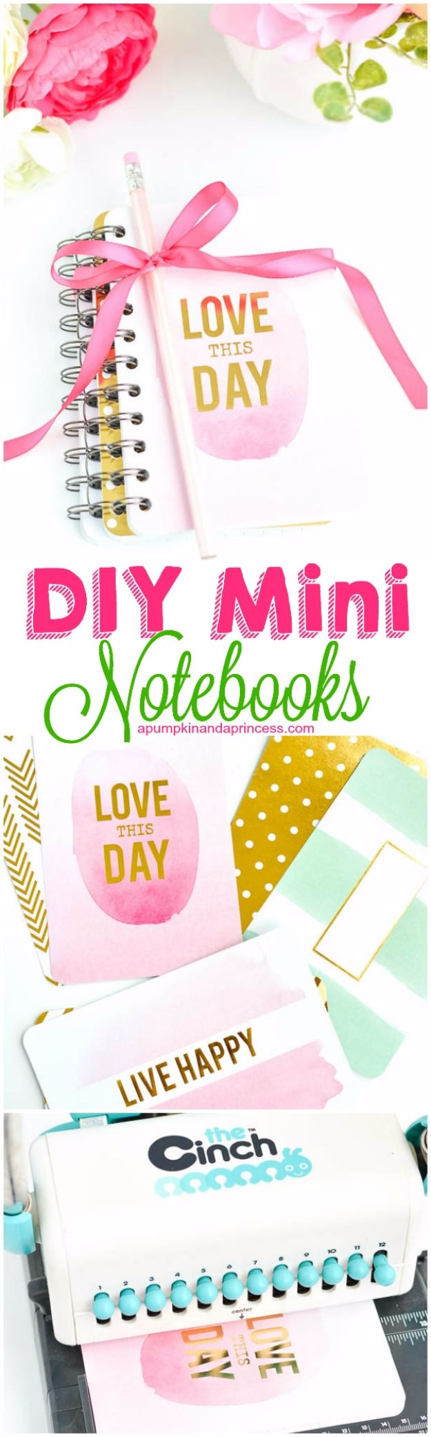 Cheap DIY Gifts and Inexpensive Homemade Christmas Gift Ideas for People on A Budget - DIY Mini Notebooks - To Make These Cool Presents Instead of Buying for the Holidays - Easy and Low Cost Gifts fTo Make For Friends and Neighbors - Quick Dollar Store Crafts and Projects for Xmas Gift Giving Parties - Step by Step Tutorials and Instructions #diygifts #teencrafts #diyideas #crafts #christmasgifts #cheapgifts