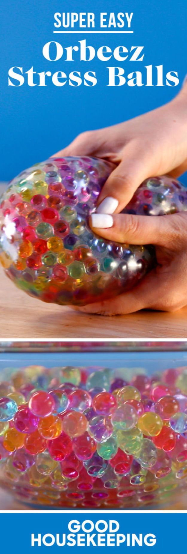 Crafts for Teens to Make and Sell - DIY Orbeez Stress Ball - Cheap and Easy DIY Ideas To Make For Extra Money - Best Things to Sell On Etsy, Dollar Store Craft Ideas, Quick Projects for Teenagers To Make Spending Cash - DIY Gifts, Wall Art, School Supplies, Room Decor, Jewelry, Fashion, Hair Accessories, Bracelets, Magnets #teencrafts #craftstosell #etsyideass