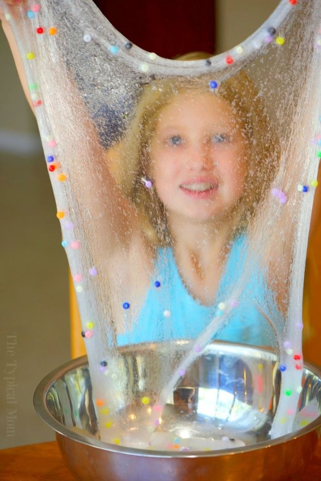 Borax Free Slime Recipes - Easy Baking Soda Slime - Safe Slimes To Make Without Glue - How To Make Fluffy Slime With Shaving Cream - Easy 3 Ingredients Glitter Slime, Clear, Galaxy, Best DIY Slime Tutorials With Step by Step Instructions #slimerecipes #slime #kidscrafts #teencrafts