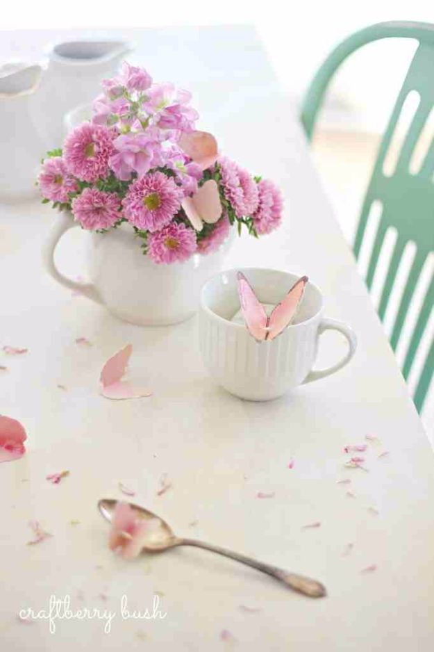 DIY Ideas With Butterflies - Butterfly Tea Bag Tag - Cute and Easy DIY Projects for Butterfly Lovers - Wall and Home Decor Projects, Things To Make and Sell on Etsy - Quick Gifts to Make for Friends and Family - Homemade No Sew Projects- Fun Jewelry, Cool Clothes and Accessories http://diyprojectsforteens.com/diy-ideas-butterflies