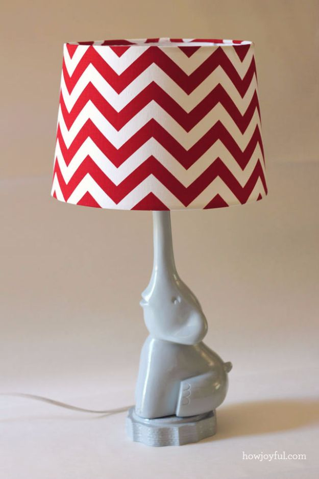 DIY Ideas With Elephants - DIY Elephant Lamp - Easy Wall Art Ideas, Crafts, Jewelry, Arts and Craft Projects for Kids, Teens and Adults- Simple Canvases, Throw Pillows, Cute Paintings for Nurseries, Dollar Store Crafts and Fun Dorm Room and Bedroom Decor - Tutorials for Crafty Ideas Decorated With an Elephant