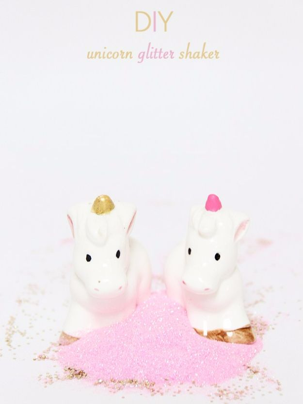 DIY Ideas With Unicorns - DIY Unicorn Glitter Shakers - Cute and Easy DIY Projects for Unicorn Lovers - Wall and Home Decor Projects, Things To Make and Sell on Etsy - Quick Gifts to Make for Friends and Family - Homemade No Sew Projects and Pillows - Fun Jewelry, Desk Decor Cool Clothes and Accessories http://diyprojectsforteens.com/diy-ideas-unicorns