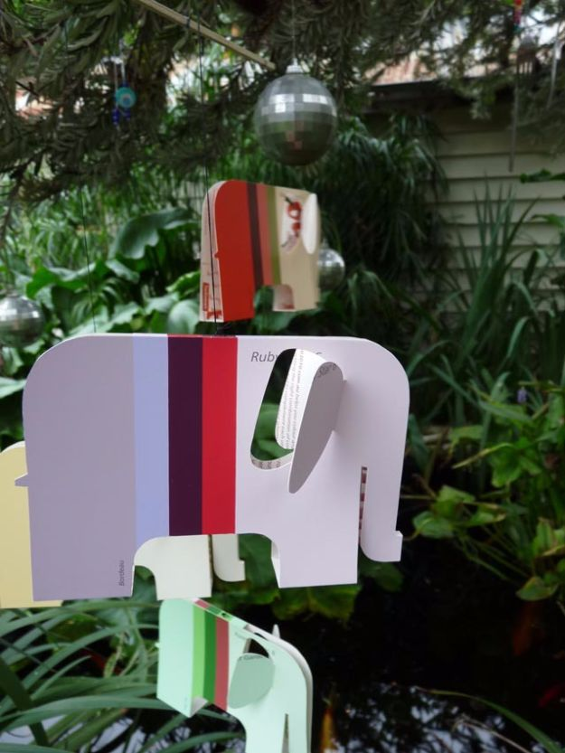 DIY Ideas With Elephants - Elephant Mobile - Easy Wall Art Ideas, Crafts, Jewelry, Arts and Craft Projects for Kids, Teens and Adults- Simple Canvases, Throw Pillows, Cute Paintings for Nurseries, Dollar Store Crafts and Fun Dorm Room and Bedroom Decor - Tutorials for Crafty Ideas Decorated With an Elephant http://diyprojectsforteens.com/diy-ideas-elephants