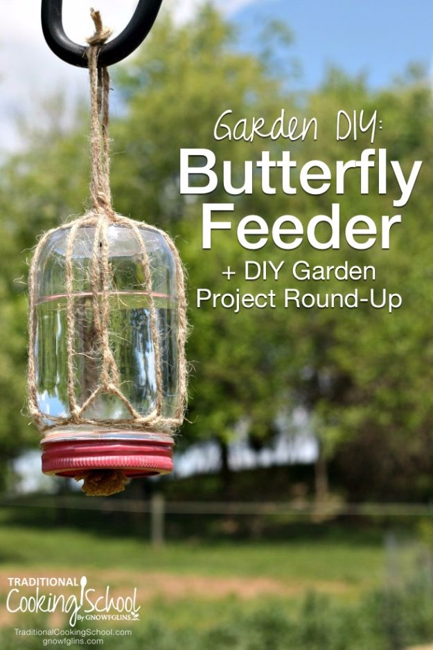 DIY Ideas With Butterflies - Make A Butterfly Feeder - Cute and Easy DIY Projects for Butterfly Lovers - Wall and Home Decor Projects, Things To Make and Sell on Etsy - Quick Gifts to Make for Friends and Family - Homemade No Sew Projects- Fun Jewelry, Cool Clothes and Accessories http://diyprojectsforteens.com/diy-ideas-butterflies