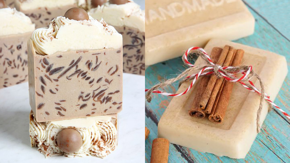 how to make soap bars at home